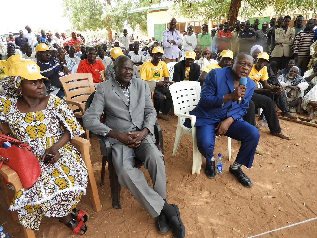 Intervention du Prefet de Mandoul Occidental lors du lancement PASTOR SUD