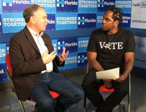 Pusha T Sits Down To Discuss Politics With Senator Tim Kaine
