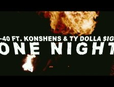 VIDEO: E-40 FT. KONSHENS & TY DOLLA $IGN – ONE NIGHT