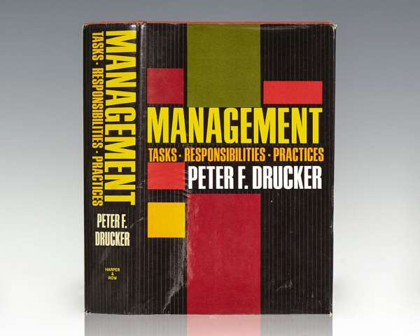 Management: Tasks, Responsibilities, Practices.