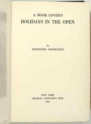 A Book-Lover's Holiday In The Open.