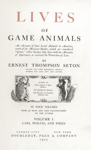 Lives of Game Animals.