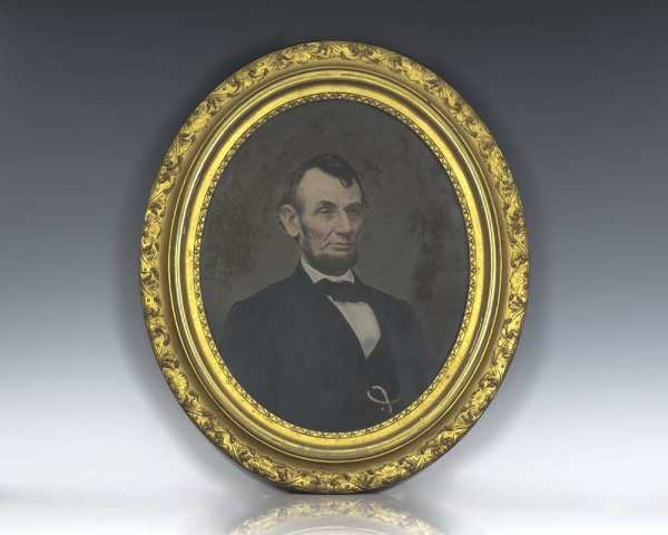 Abraham Lincoln Portrait.