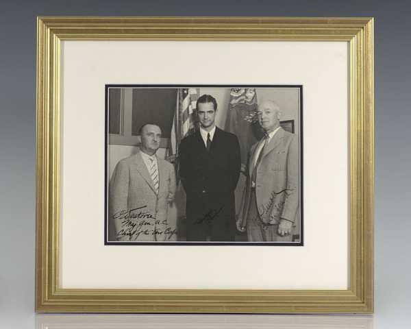 Howard Hughes Signed Photograph.