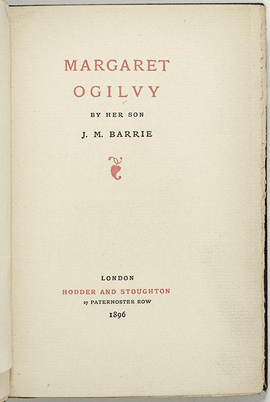 Margaret Ogilvy.