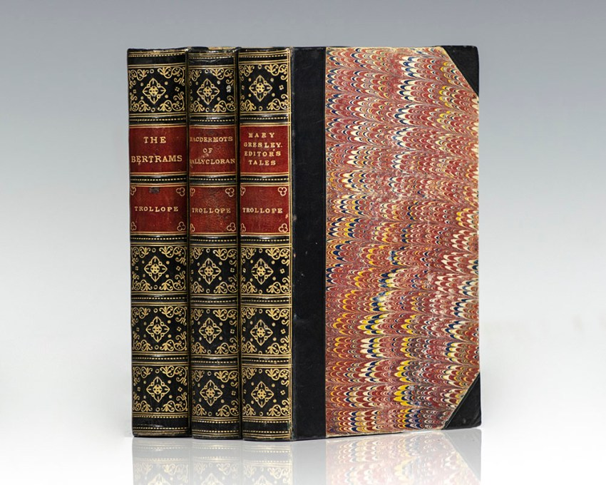 Selected Works of Anthony Trollope. [The Bertrams, The Macdermots of Ballycloran, Mary Gresley and An Editor's Tales].