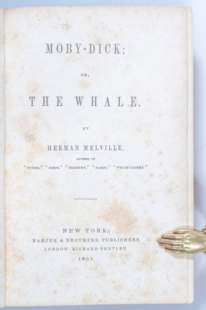 Moby Dick; Or, The Whale.