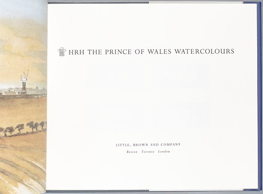 HRH The Prince of Wales Watercolours.