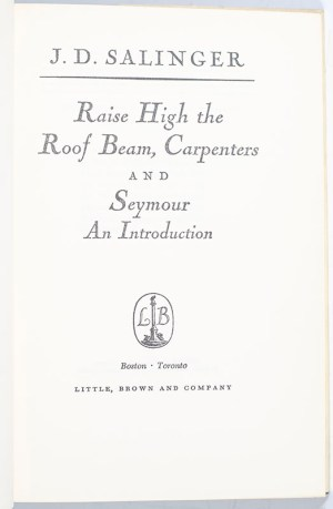 Raise High the Roof Beam, Carpenters and Seymour: An Introduction.