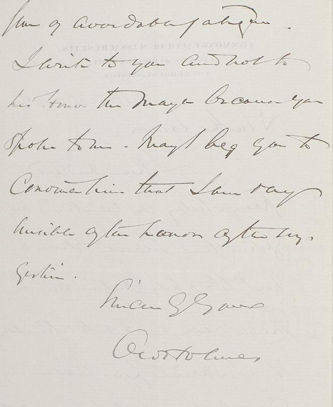 Justice Oliver Wendell Holmes, Jr. Autograph Letter Signed.