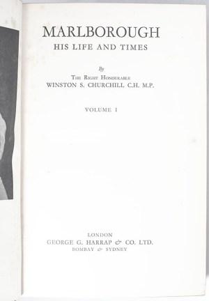 Marlborough: His Life and Times.
