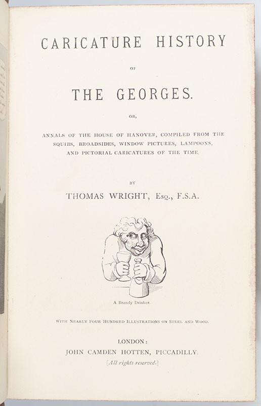 Caricature History of The Georges.