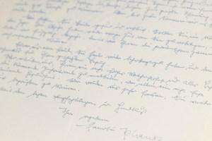 Friedrich August von Hayek Autograph Letter and Personal Document Collection.