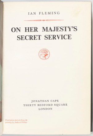 On Her Majesty's Secret Service.