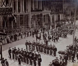 Seven Mile Funeral Cortège of General Grant in New York Aug. 8, 1885.