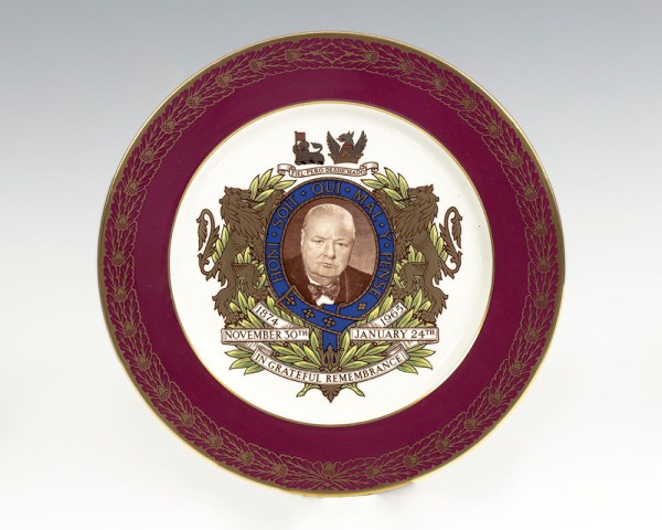The Churchill Plate.