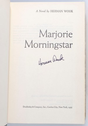 Marjorie Morningstar.