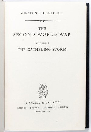 The Second World War: The Gathering Storm; Their Finest Hour; The Grand Alliance; The Hinge of Fate; Closing the Ring; Triumph and Tragedy.