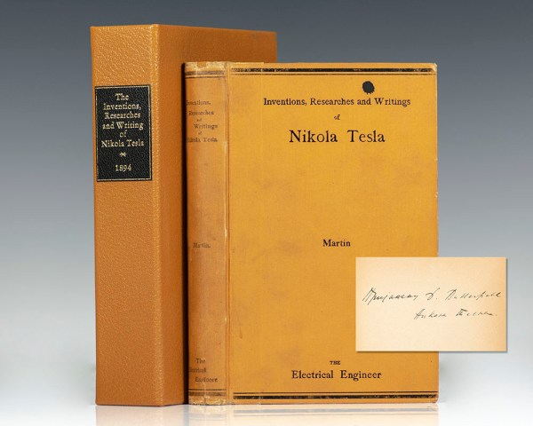 The Inventions Researches and Writings of Nikola Tesla. With Special Reference to His Work in Polyphase Currents and High Potential Lighting.