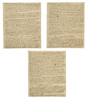 John Adams Autograph Letter Signed.
