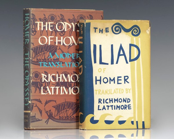 The Iliad of Homer & The Odyssey of Homer.