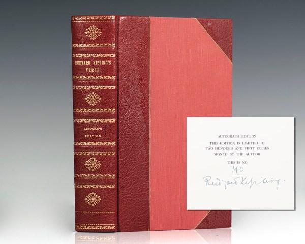 Rudyard Kipling's Verse: Inclusive Edition 1885-1918.