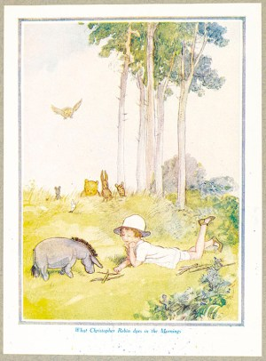 A. A. Milne and Ernest Shepard Signed Winnie-the-Pooh Print Collection.
