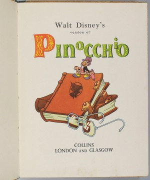 Walt Disney's Version of Pinocchio.