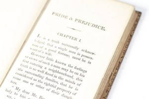 """Pride and Prejudice: A Novel. In Three Volumes by the Author of """"Sense and Sensibility."""""""
