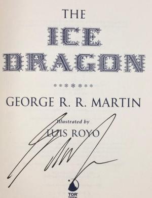 The Ice Dragon.