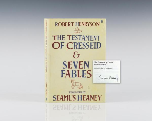 Robert Henryson The Testament of Cresseid & Seven Fables.