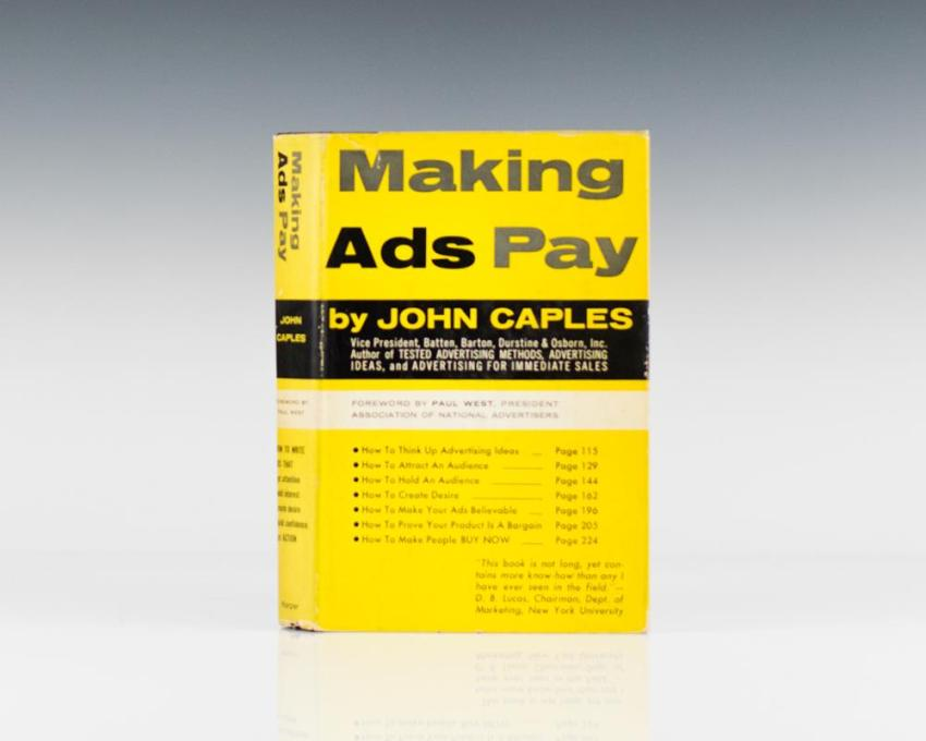 Making Ads Pay.