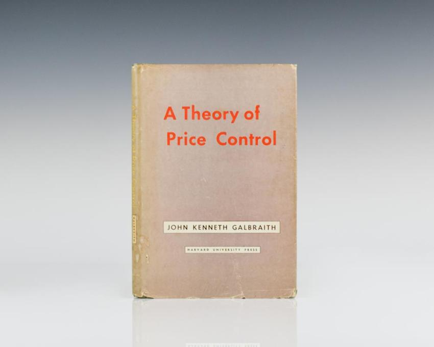 A Theory of Price Control.