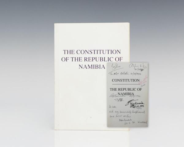 The Constitution of the Republic of Namibia.