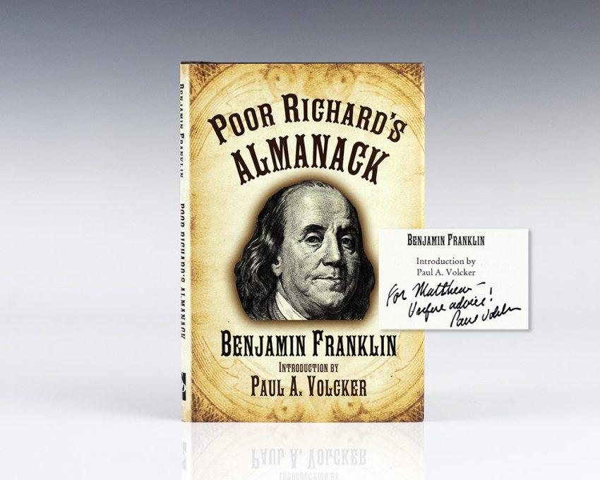 Poor Richard's Almanack.