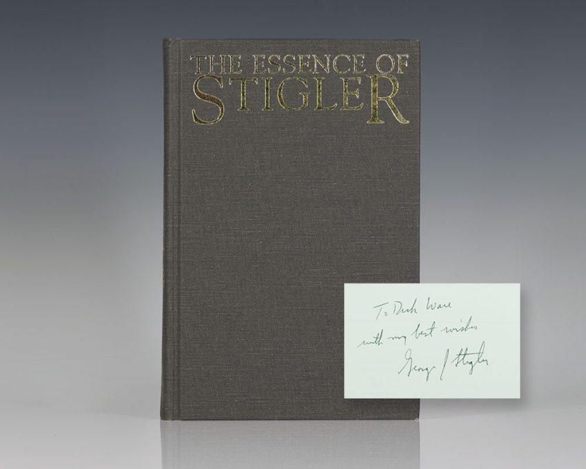 The Essence of Stigler.