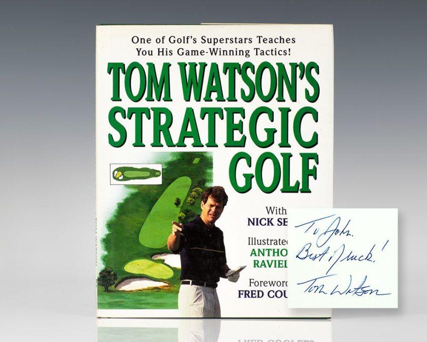 Tom Watson's Strategic Golf.