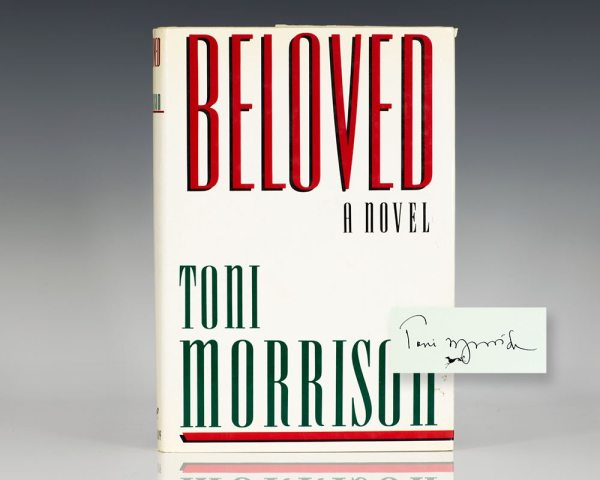 First edition of Beloved; signed by Toni Morrison