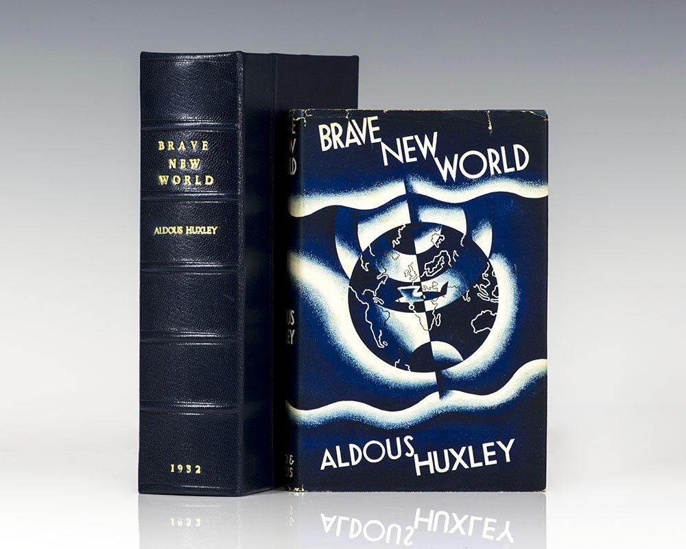 Brave New World Aldous Huxley First Edition Rare Book