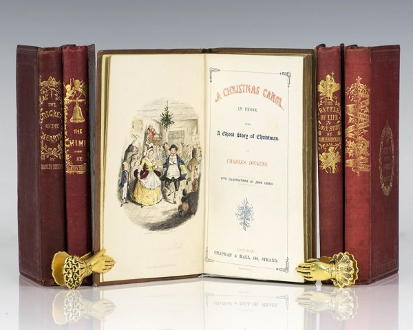 Christmas Carol Charles Dickens First Edition Rare Book