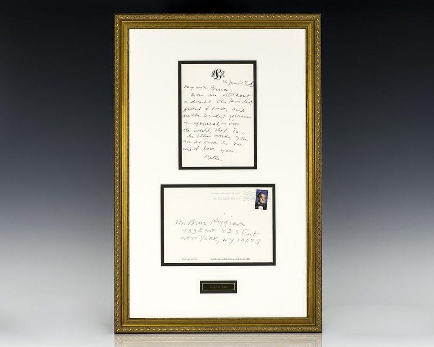 Harper Lee Autographed Letter Signed.