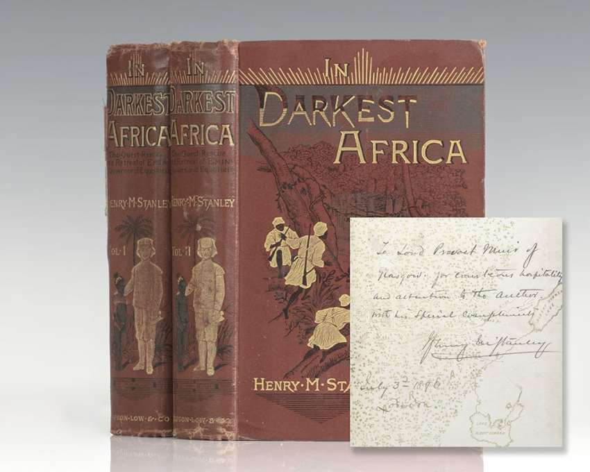 In Darkest Africa or, The Quest, Rescue, and Retreat of Emin, Governor of Equatoria.