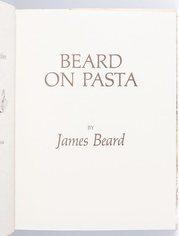 Beard On Pasta.