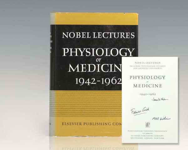 Nobel Lectures: Physiology or Medicine 1942-1962.