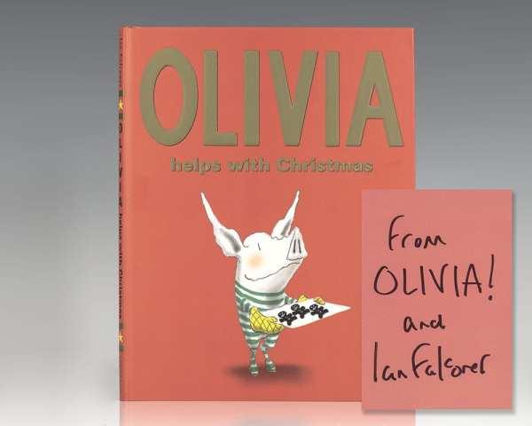 Olivia Helps With Christmas.