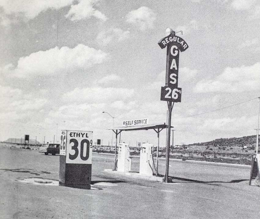 Twentysix Gasoline Stations.