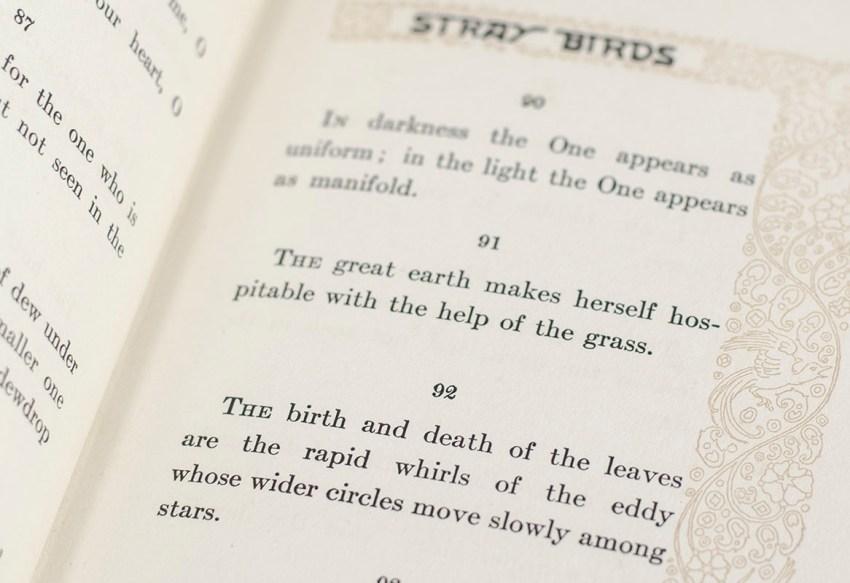 Stray Birds.