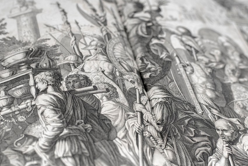 The Commentaries of Caesar, Translated into English. To Which is Prefixed a Discourse Concerning The Roman Art of War.