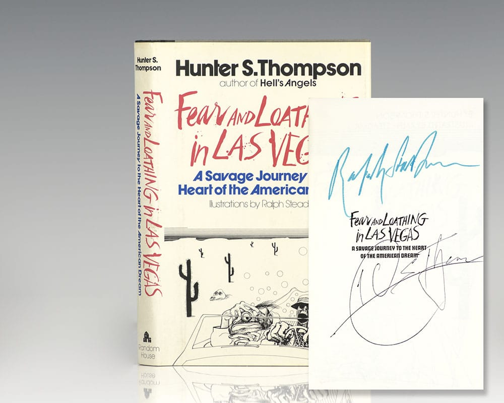 Fear And Loathing In Las Vegas Hunter Thompson First Edition Signed
