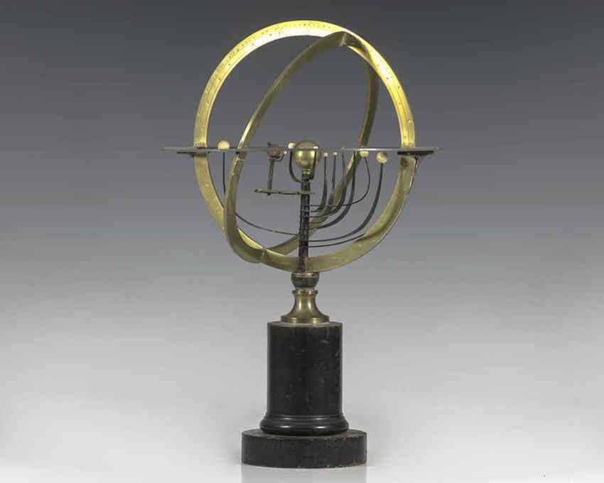 Rare 19th Century Charles Dien Celestial Table Globe.